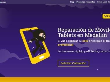 Pagina Web: MovilNinja.com