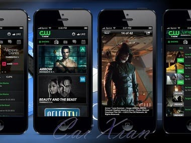 cwTv realtime app for Android and iPhone