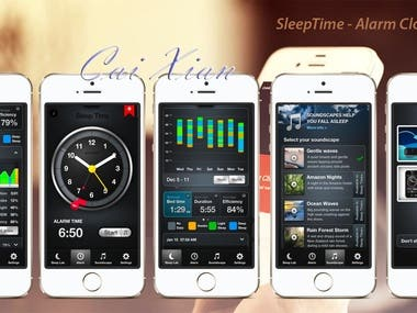 Sleep Time app for Android and iPhone