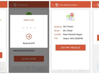 Car towing application