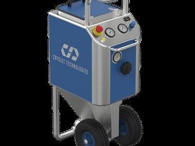 Ice Blaster Machine