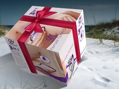 Epilator Packaging Design