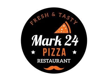 Mark 24 Pizza - Logo Design