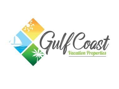 Gulf Coast Vacation Properties - Logo Design