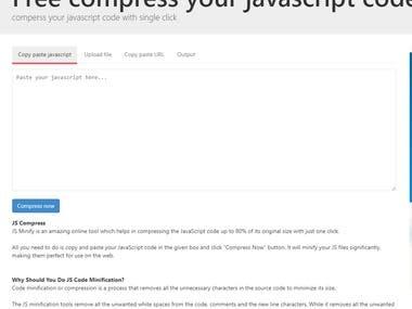 jsminification.com