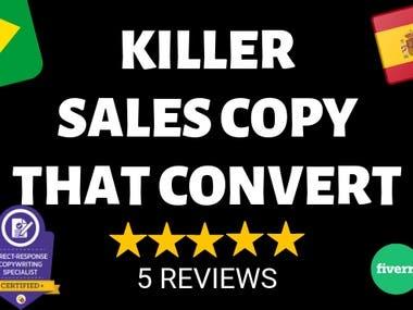 KILLER SALES COPY