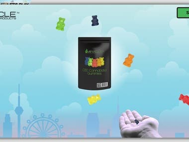 Gummybear promotional game