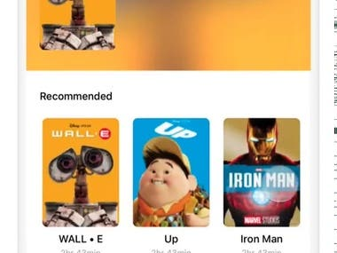 Movies Store (Native iOS)