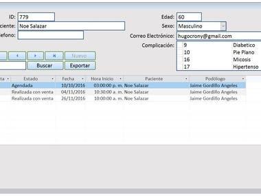 Schedule management Access VBA