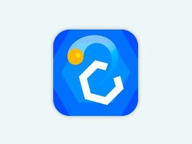 Mobile App Game Logo