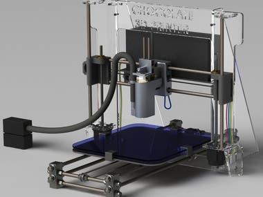 Chocolate 3D Printer