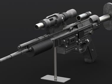 Gaming Rifle Model
