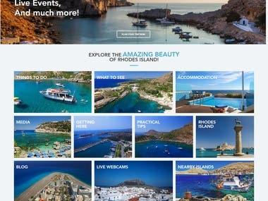 VisitRhodes.com - Travel Guide Portal