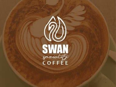 SWAN coffee LOGO