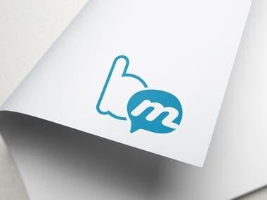 BM chat app logo