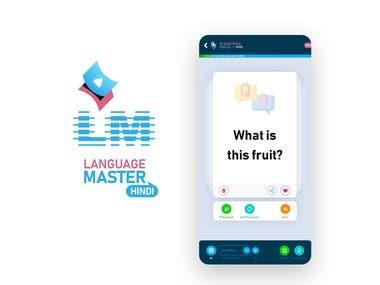 Language Master Flash Card Mobile APP