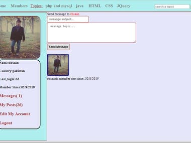 HTML CSS PHP