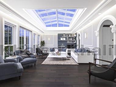 Modern Living Room Design In UK