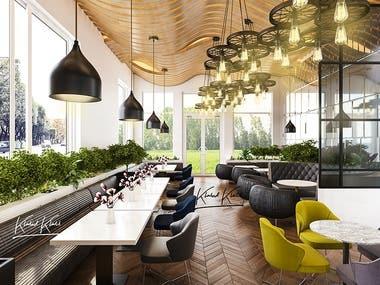 Modern restaurant based in UK