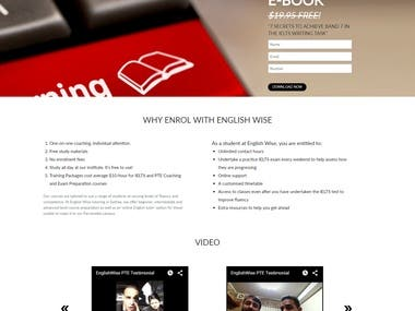 English Wise Website Design and Development
