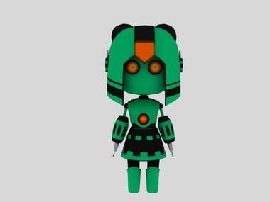 Simple Girl Robot