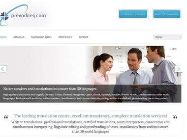 Website - www.prevoditelj.com