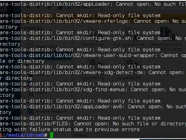 Problems with Linux File System()corrections
