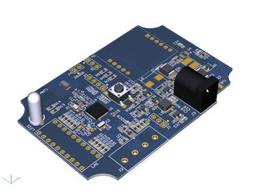 Bluetooth and GSM PCB