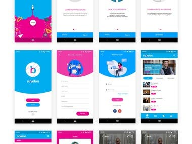 Mobile App UI UX