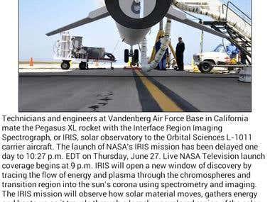 NASA - Image of the day