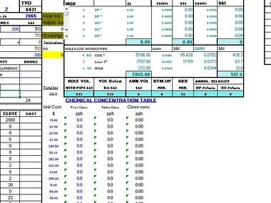 Excel: Complicated Excel project replacing software.