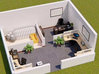 3D Floor Plans and Visualizations