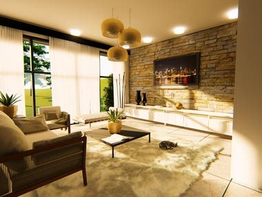 3D Visualizations/ Renders (Interior)