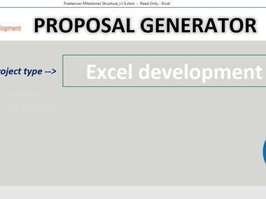 Proposal Generator