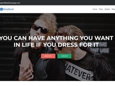 Wordpress Online shop