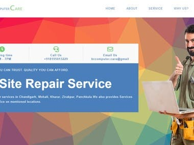 Br Computer care website