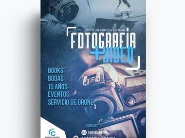 Flyer - Estudio de Fotografía