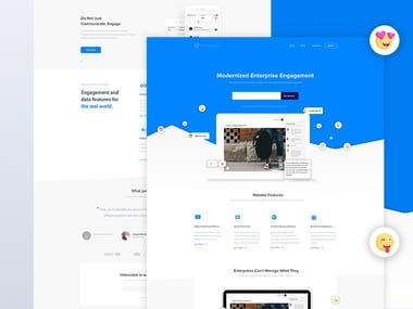 Channel Landing Page Web Design