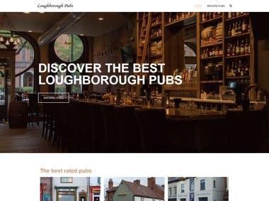 Loughborough Pubs website