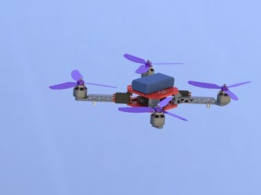 4-Wing Quadcopter