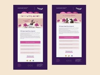 Mail Ads Template Design
