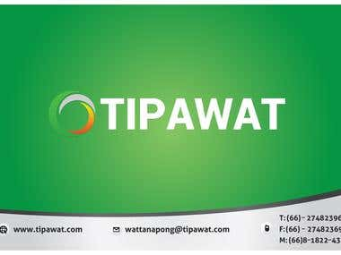Business Card Design for TIPAWAT.