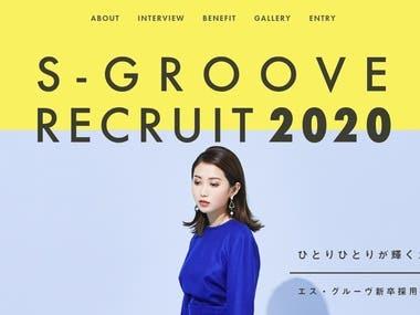 S - GROOVE RECURIT 2020: VueJS Project