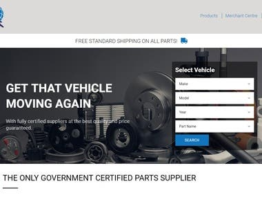 QParts2U - Node.js Auto Parts Marketplace