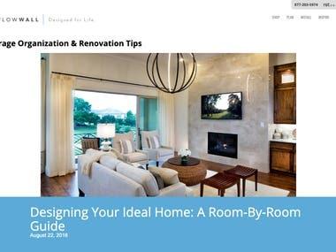 Garage Organization & Renovation Tips