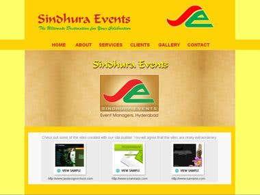 www.sindhuraevents.com