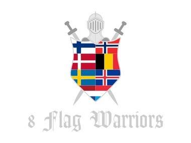 Logo 8 Flag Warriors