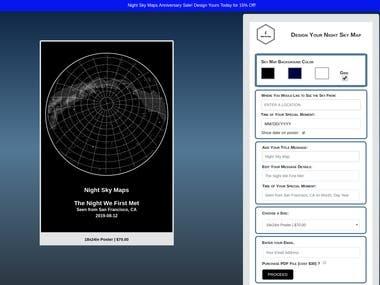 StarMap+Printful+Shopify