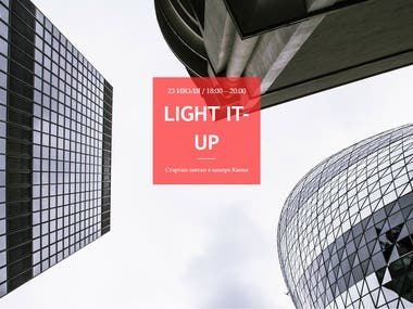 Landing-Page | Light It Up
