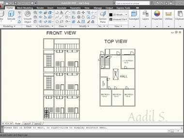 AutoCad (__2d Drafting__)